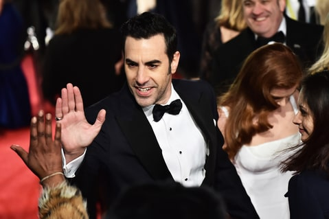 Sacha Baron Cohen; EE British Academy Film Awards