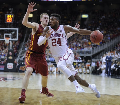Buddy Hield; First Four; Big 12; NCAA Men's Basketball