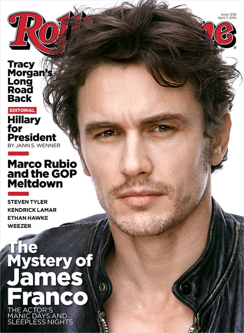 Rolling Stone Cover; James Franco; Mark Seliger; 2016