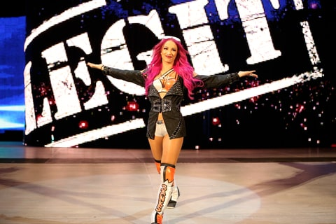 WWE; WrestleMania; Snoop Dogg; Sasha Banks
