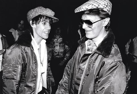 David Bowie; Iggy Pop