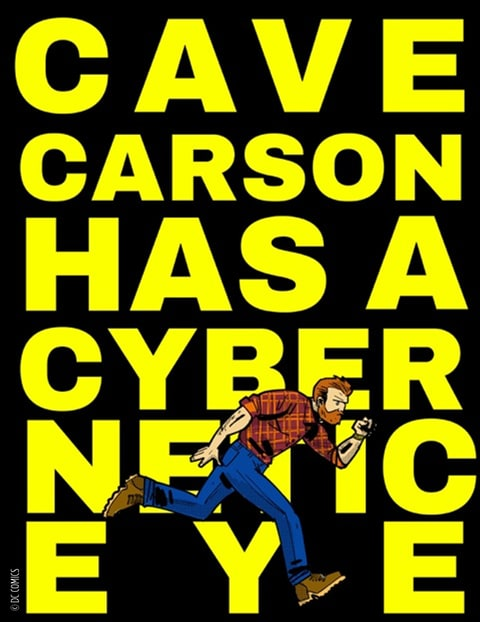Cave Carson Has a Cybernetic Eye; Gerard Way; Jon Rivera