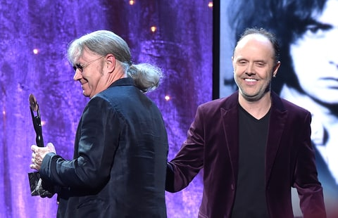 Lars Ulrich; Deep Purple; Rock and Roll hall of Fame