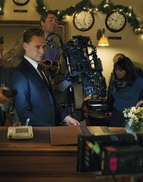 Tom Hiddleston; The Night Manager