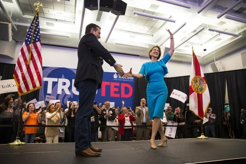 Ted Cruz; Carly Fiorina