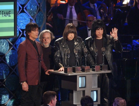 Rock and Roll Hall of Fame; ROHOF; The Ramones, Ramones rolling stone, Ramones bio, Ramones history, Ramones interviews