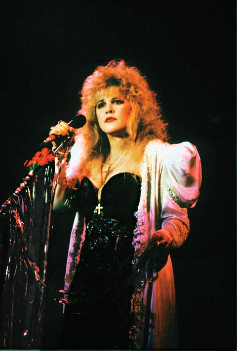 Brilliant Stevie Nicks A Rock Goddess Looks Back Rolling Stone Hairstyles For Women Draintrainus