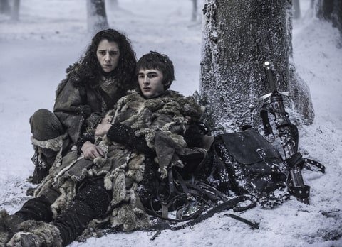 Game of Thrones Isaac Hempstead Wright Ellie Kendrick