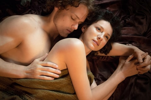 Caitriona Balfe, star of 'Outlander,' on the show's sex, violence and surprisngly progressive attitudes.
