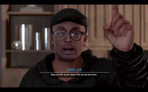 Spike Lee Livin Da Dream NBA 2k16 Movie Pointing Finger