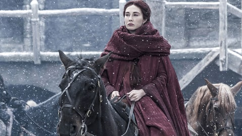 Melisandre Game of Thones Villians Riding Horse