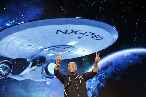 Star Trek Bridge Crew VR LeVar Burton Speaks Game e3