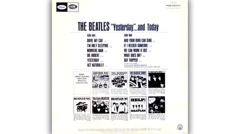 Robert Whitaker, The Beatles, Yesterday & Today, Fab, Four, collectible