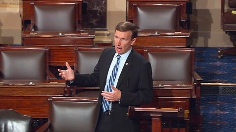 Chris Murphy, filibuster