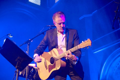 Mick Harvey performing London England