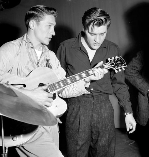 Scotty Moore, Elvis Presley