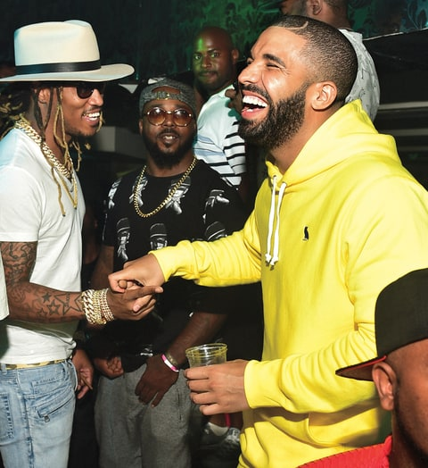 Drake Future partying drinking collaborate What a time to be alive