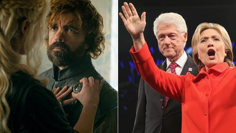 Tyrion Bill Clinton Game of Thrones Hand of the Queen