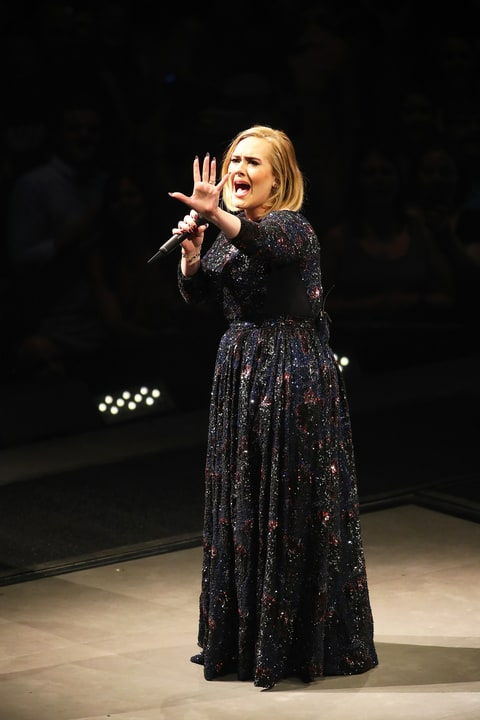 Adele, opening night, North American, concert, tour, St Paul, Minnesota