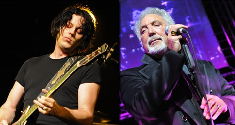 Jack White, Tom Jones