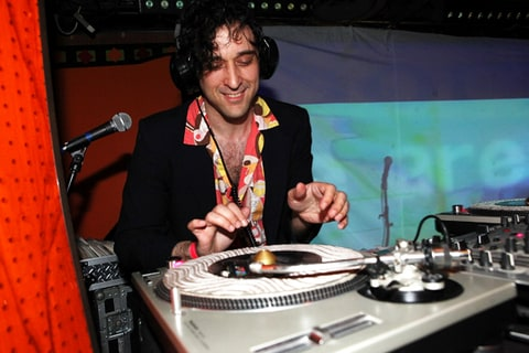DJ Jonathan Toubin at the 2011 Bruise Cruise Festival.