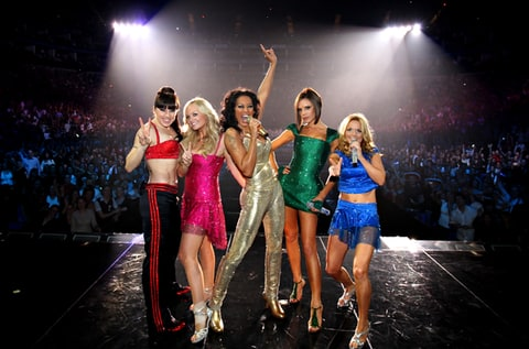 The Spice Girls perform during The Return of Spice Girls World Tour.