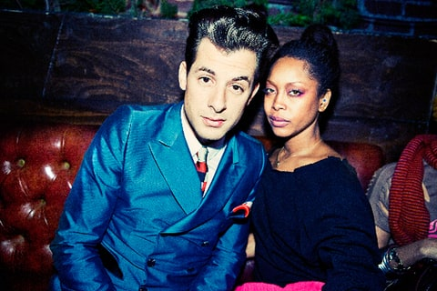 Mark Ronson and Erykah Badu at The Grammy's Re:Generation Music Project.