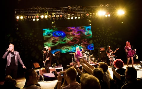 The B-52's Celebrate 35 Years With Hometown Party in Athens, Georgia.