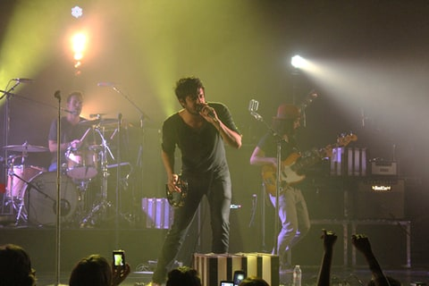 Young the Giant perform at the Wiltern in Los Angeles.