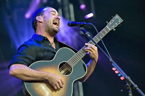 Dave Matthews performs during the Dave Matthews Band Caravan.