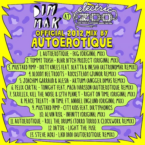 dim mak electric zoo mix
