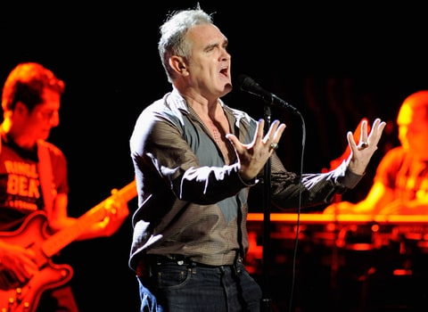 Morrissey performs at Wang Theatre on October 5, 2012 in Boston, Massachusetts.