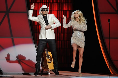 brad paisley carrie underwood cma