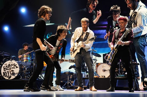 The Rolling Stones, Bruce Springsteen, Mick Jagger, Prudential Center, Newark, New Jersey, Lady Gaga, the Black Keys