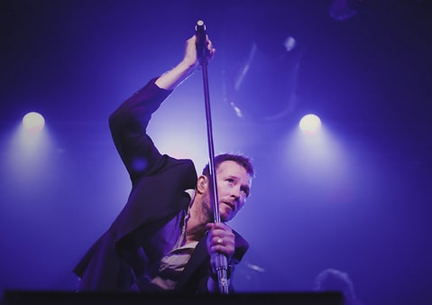 Scott Weiland performs at the Emporium in Patchogue, New York.