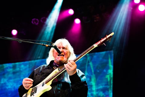 Yes performs at the Orpheum Theatre in Los Angeles.