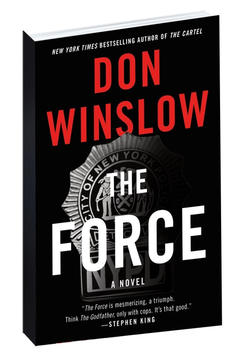 Don winslow, the force, new york city cops, police community relations, heroin bust