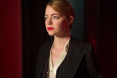Emma Stone stars as 'Mia' in La La Land.