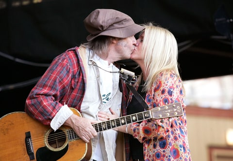 Pegi Young, Neil Young, Divorce