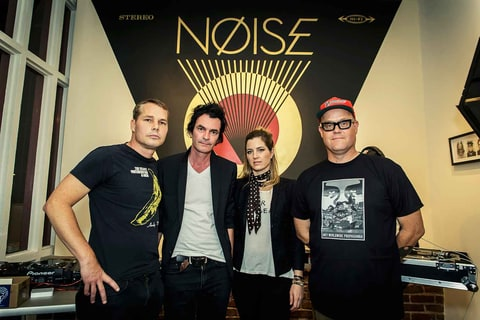 Shepard Fairey's Noise: Inside Iconic Designer's New Art Pop Band news