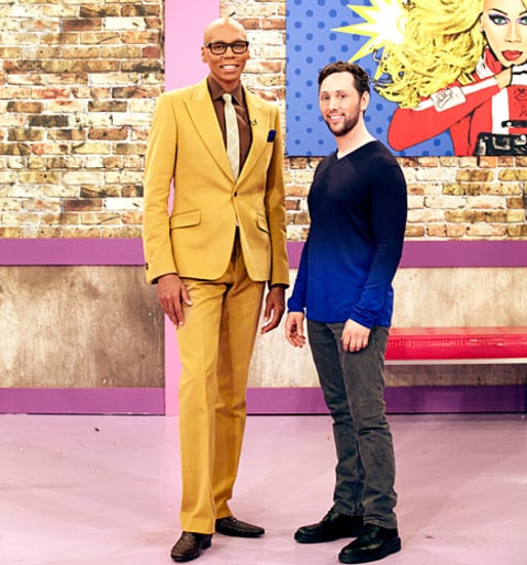 RuPaul and Ian