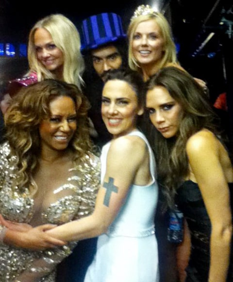 russell brand spice girls