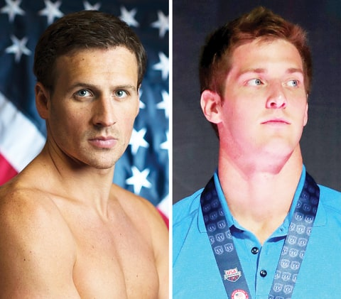 Ryan Lochte and Jimmy Feigen