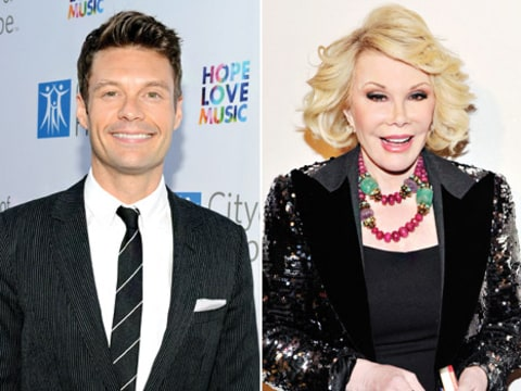 ryan seacrest and joan rivers