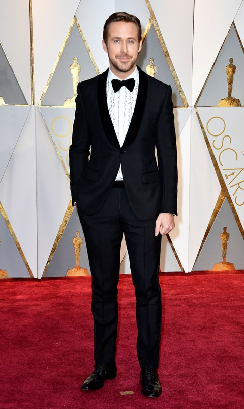 Resultado de imagem para oscars 2017 ryan gosling look
