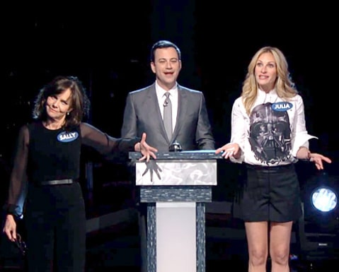 Sally Field Jimmy Kimmel Julia Roberts