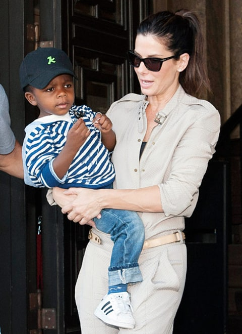 sandra bullock and louis