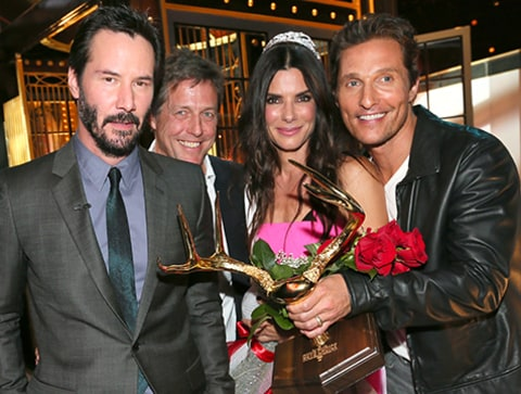Sandra Bullock Spike TV Awards