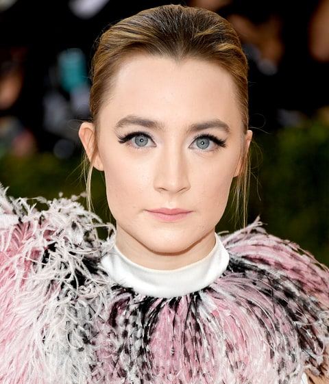 Saoirse Ronan attends the 'Manus x Machina: Fashion In An Age Of Technology' Costume Institute Gala at the Metropolitan Museum on May 02, 2016 in New York.