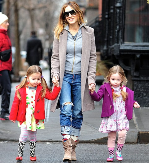 SJP and twins